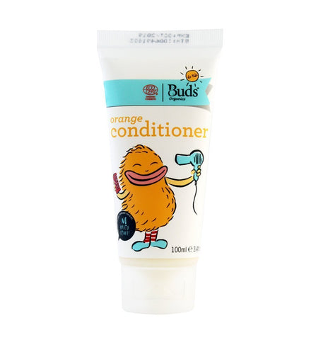BUDS Orange Conditioner 兒童有機甜橙護髮素 [100ml] - MINT Organics