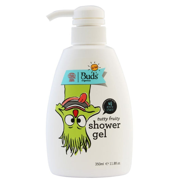 BUDS Tutty Fruity Shower Gel 兒童有機甜果沐浴液 [350ml] - MINT Organics