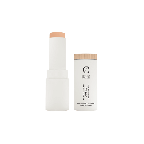 COULEUR CARAMEL Compact Foundation 有機高清無瑕粉底筆 [9g] - MINT Organics