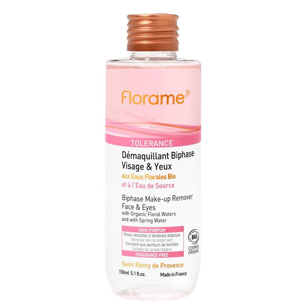 FLORAME Biphase Make-up Remover 有機舒敏雙層卸粧水 [150ml] - MINT Organics