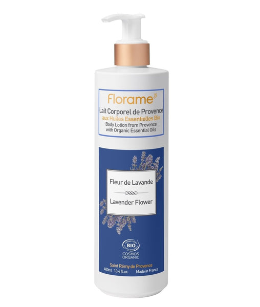 FLORAME Body Lotion Lavender Flower 有機薰衣草潤膚霜 [400ml] - MINT Organics