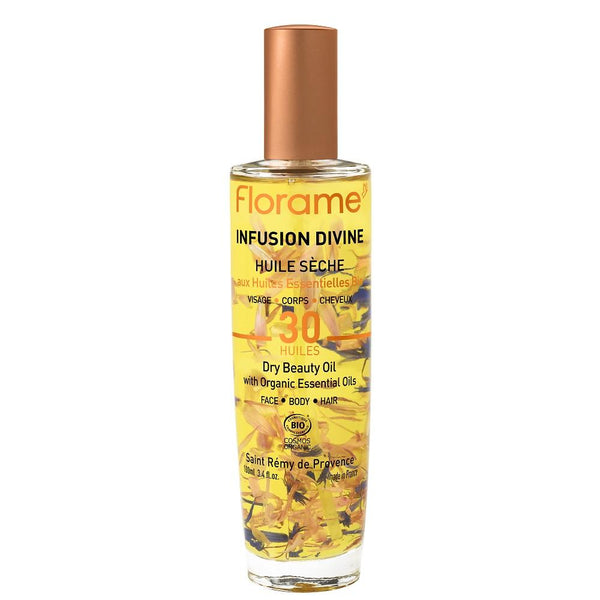 FLORAME Divine Infusion Dry Beauty Oil 全方位極緻美顏油 [100ml] - MINT Organics