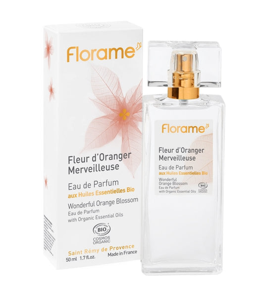 【限量】FLORAME EDP Orange Blossom 有機清香橙花濃香水 [50ml] - MINT Organics