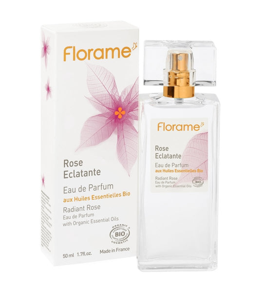 【限量】FLORAME EDP Radiant Rose 有機經典玫瑰濃香水 [50ml] - MINT Organics
