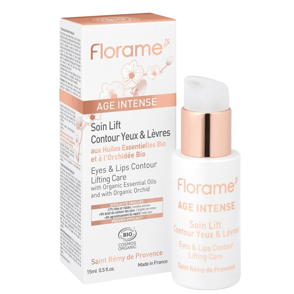 FLORAME Eyes & Lips Contour Lifting Care 有機蘭花眼唇提亮精華 [15ml] - MINT Organics