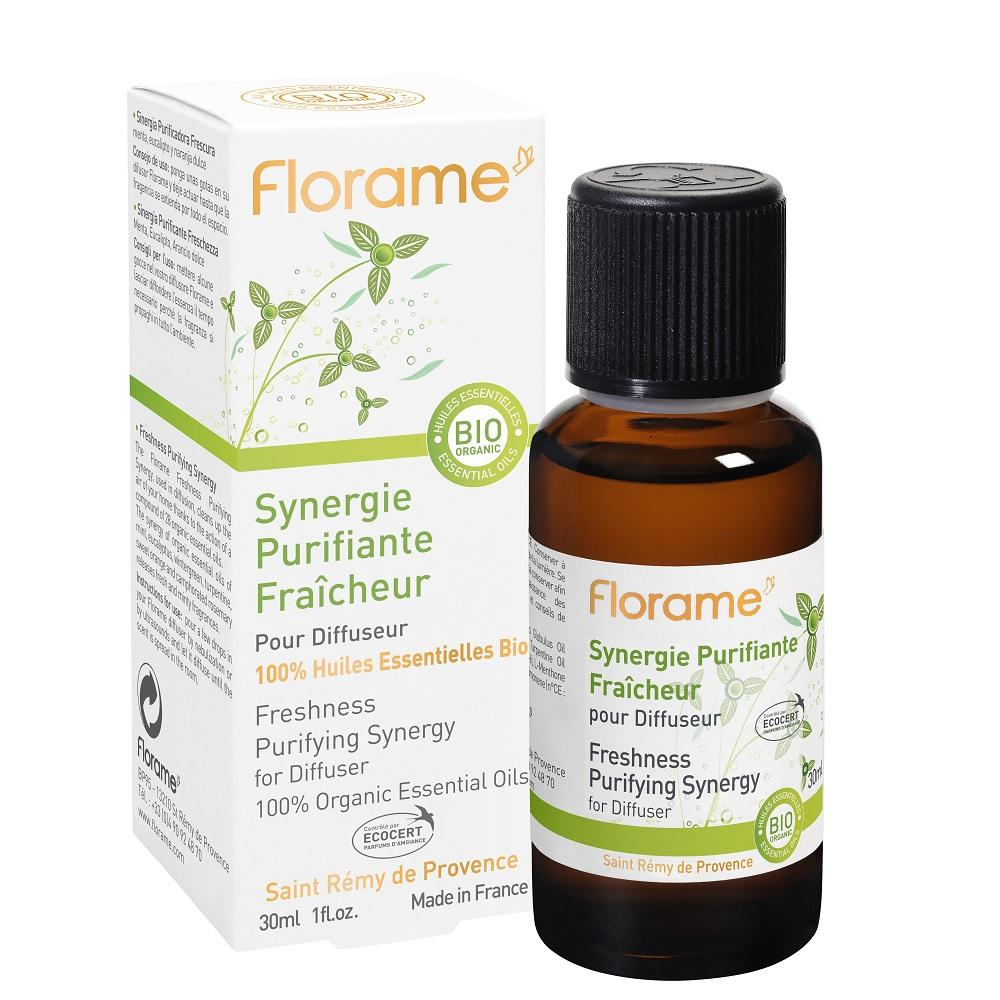 FLORAME Freshness Purifying Synergy 淨化殺菌複方精油 - 清新 [30ml] - MINT Organics
