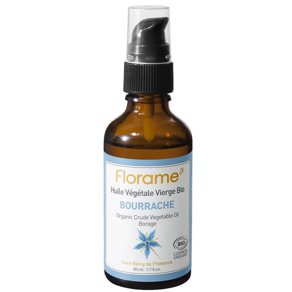 FLORAME Organic Borage Oil 有機琉璃苣油 [50ml] - MINT Organics