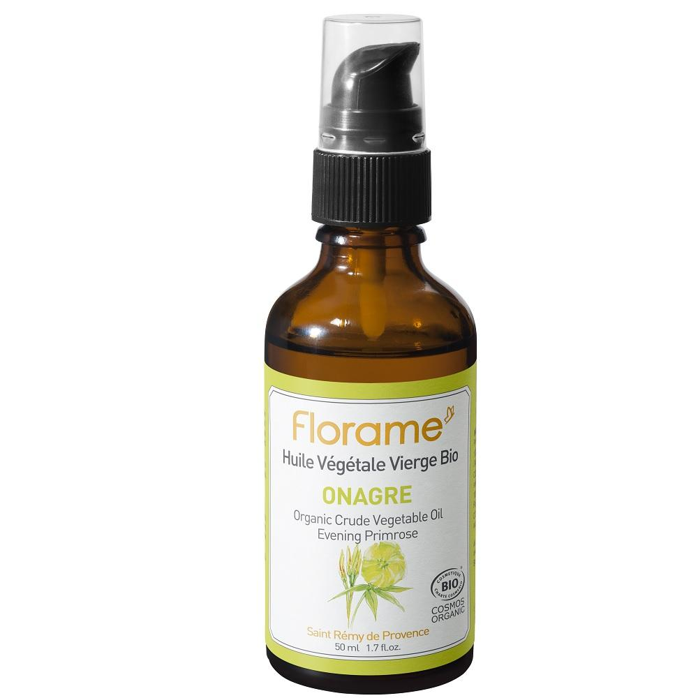 FLORAME Organic Evening Primrose Oil 有機月見草油 [50ml] - MINT Organics