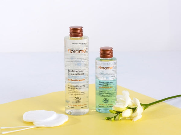 FLORAME Organic Make-up Removing Micellar Water 有機低敏面部卸妝水 [200ml] - MINT Organics