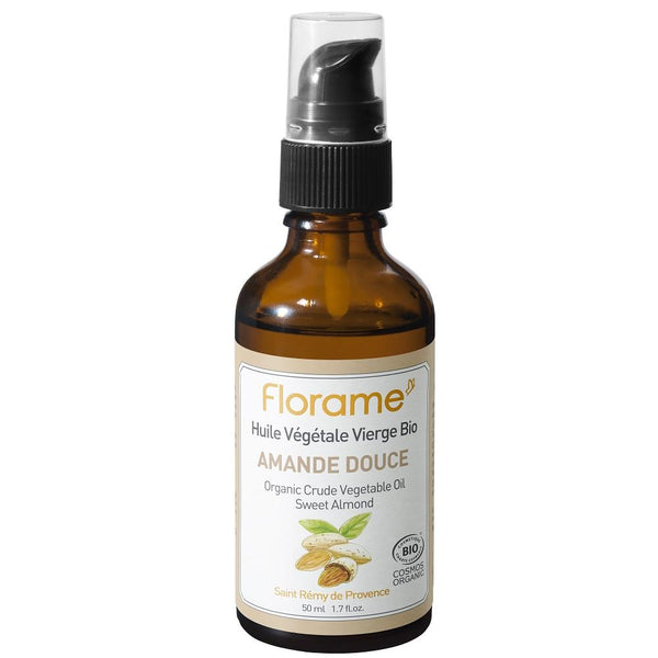FLORAME Organic Sweet Almond Oil 有機甜杏仁油 [50ml] - MINT Organics