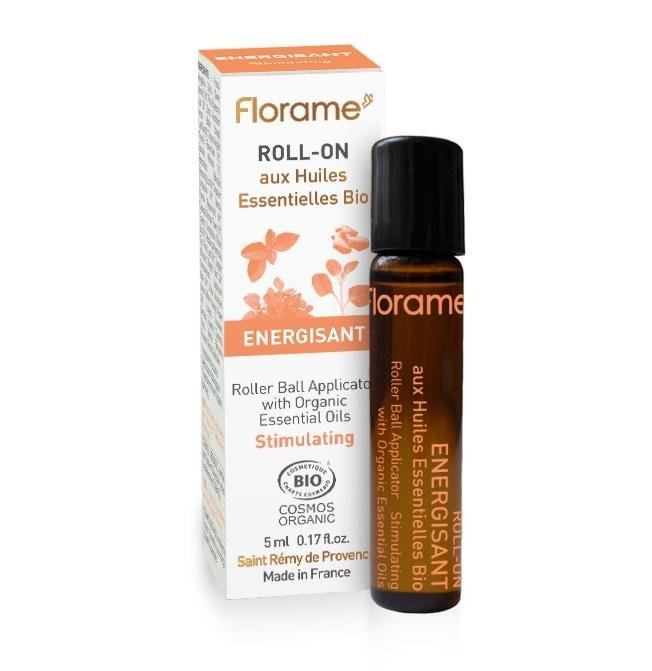 FLORAME Roll-On Energisant 有機提神活力走珠筆 [5ml] - MINT Organics