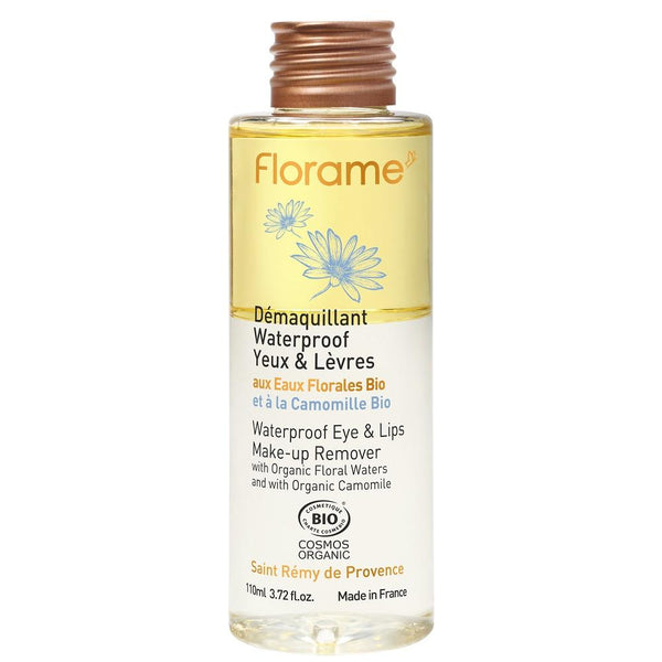 FLORAME Waterproof Eye & Lips Make-up Remover 有機防水眼唇卸妝液 [110ml] - MINT Organics