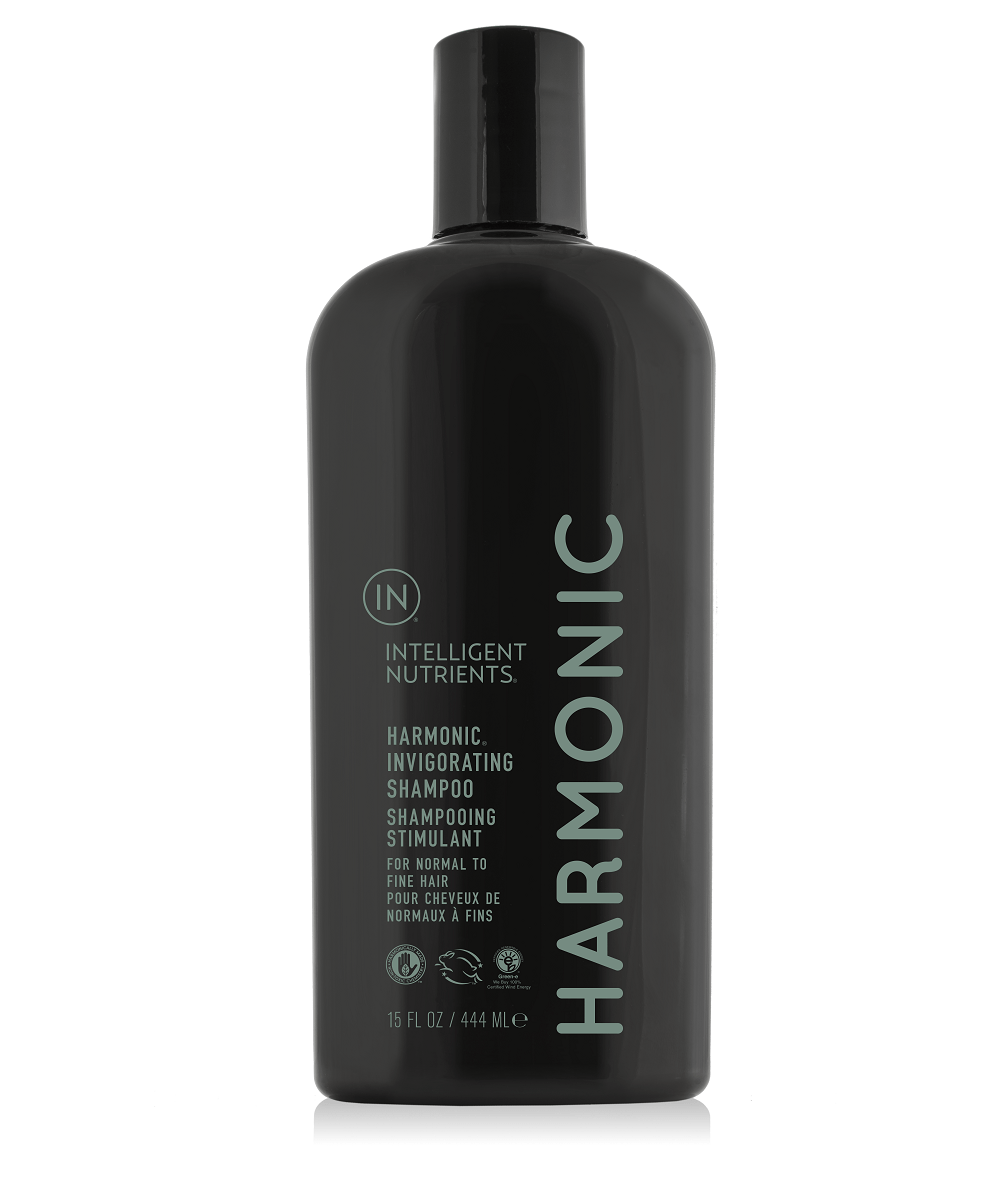 INTELLIGENT NUTRIENTS Harmonic™ Invigorating Shampoo 和諧保濕排毒洗髮水 [444ml] - MINT Organics