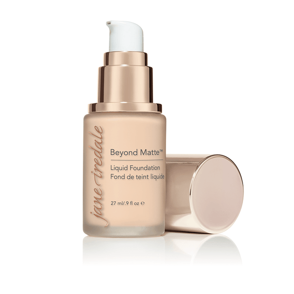 JANE IREDALE Beyond Matte™ Liquid Foundation 陶瓷活膚粉底液 [27ml] - MINT Organics