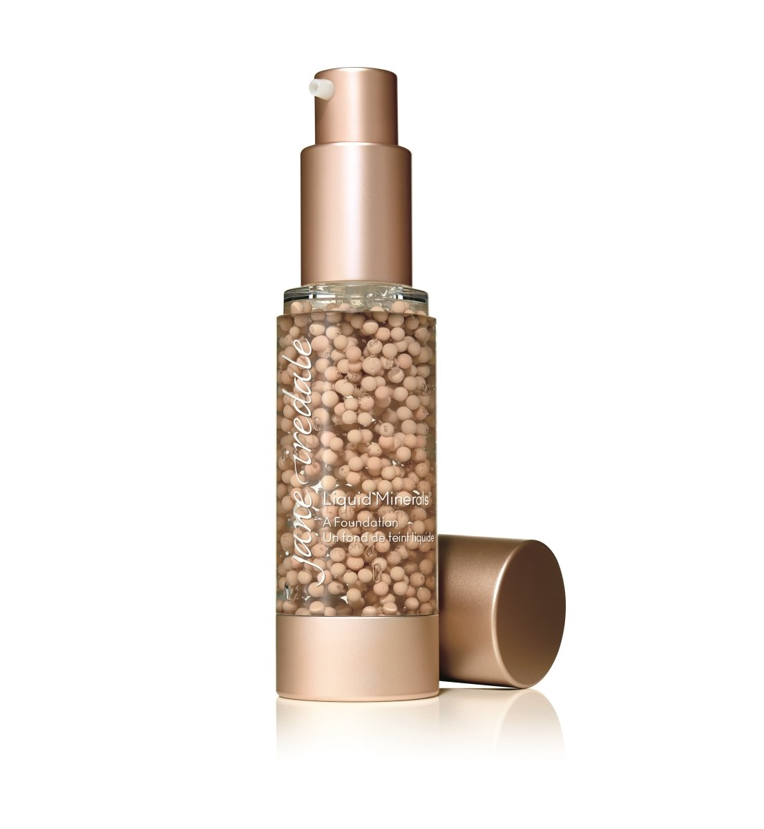 JANE IREDALE Liquid Minerals™ A Foundation 礦物質潤澤慕斯 [30ml] - MINT Organics