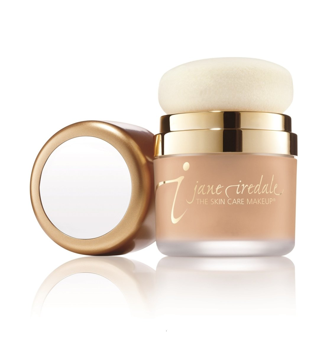 JANE IREDALE Powder-me Sponge 防曬粉專用粉撲帽 - MINT Organics