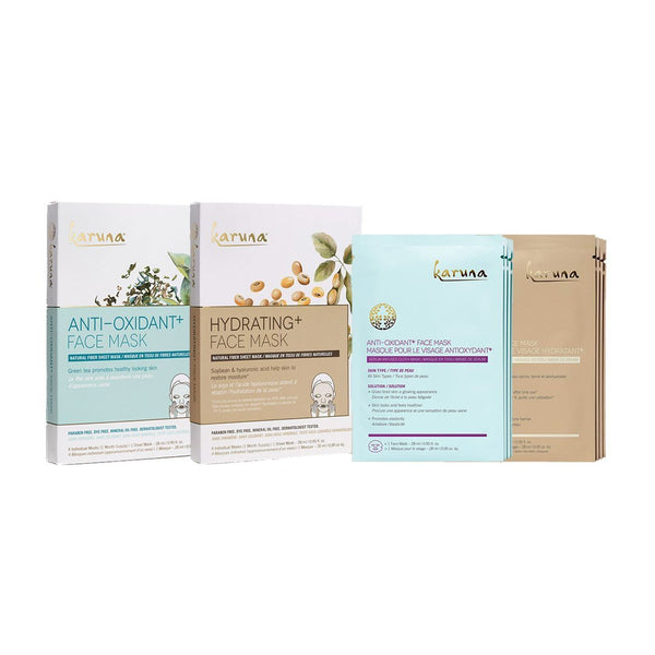 KARUNA Anti-Oxidant and Hydrating Set 去黃亮肌潤澤套裝 [8pcs] - MINT Organics