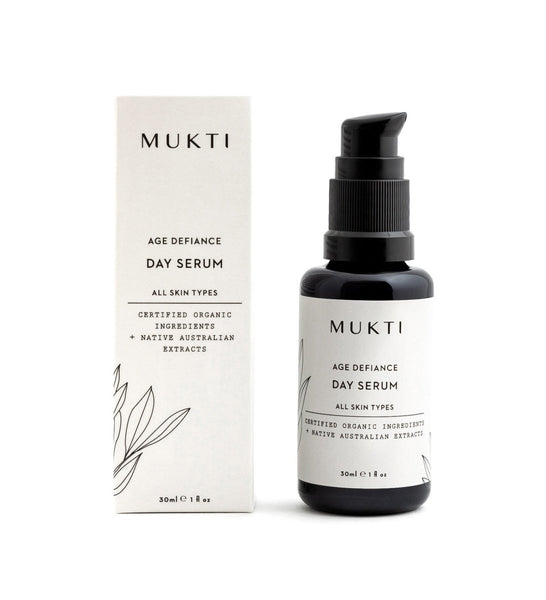 MUKTI Age Defiance Day Serum 日間修護精華 [30ml] - MINT Organics