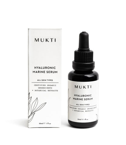 MUKTI Hyaluronic Marine Serum [30ml] - MINT Organics