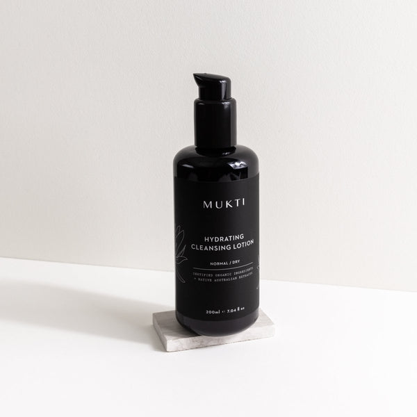 MUKTI Hydrating Cleansing Lotion 有機保濕潔面乳 [200ml] - MINT Organics