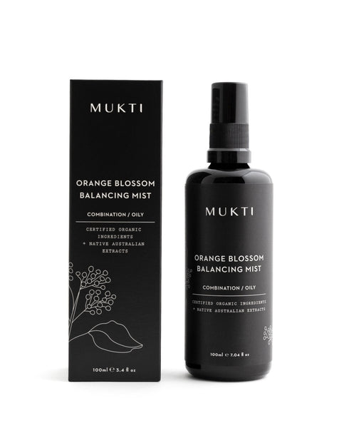 MUKTI Orange Blossom Balancing Mist [100ml] - MINT Organics