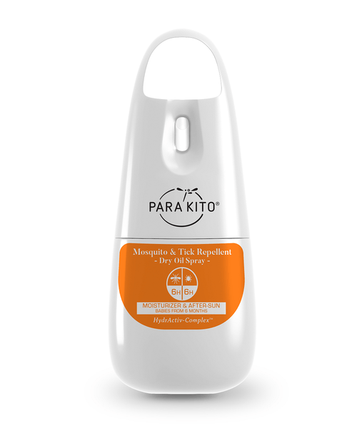 PARA'KITO Mosquito & Tick Repellent Spray - Dry Oil 天然驅蚊噴霧 - 溫和乾油配方 [75ml] - MINT Organics