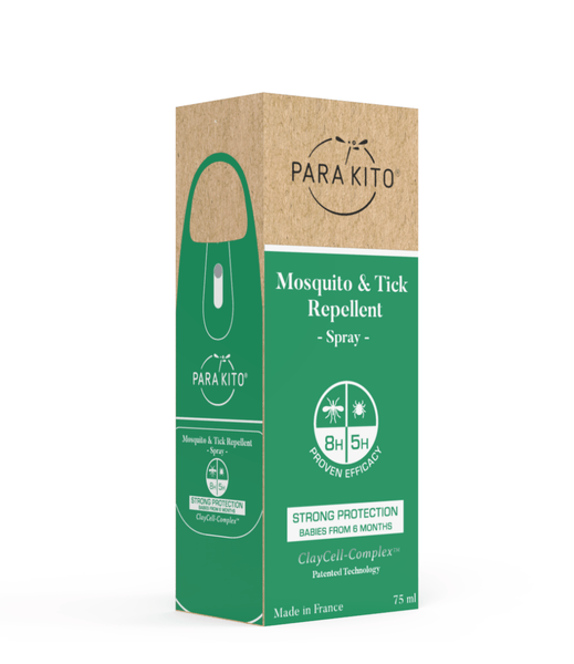 PARA'KITO Mosquito & Tick Repellent Spray - Strong Protection 天然驅蚊噴霧 - 強效保護 [75ml] - MINT Organics