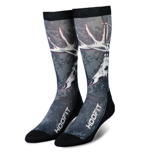 WHITETAIL SKULL - Performance HOOFIT Socks with Bamboo BravoFiber™