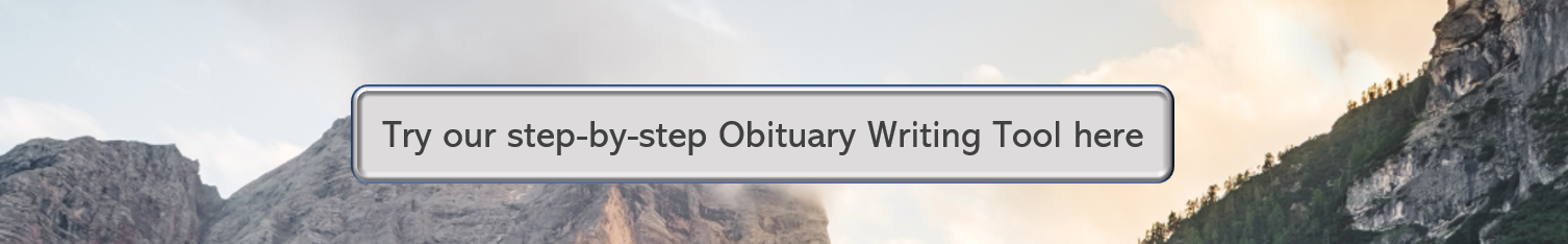 Create a obituary with our writing tool