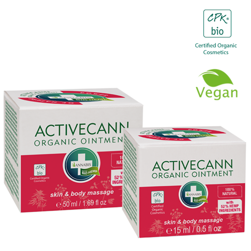 ACTIVECANN - Baume Organique 50 ml - Hashtag CBD Products