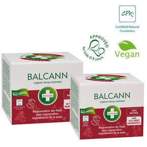 BALCANN - Baume organique 15 ml - Hashtag CBD Products