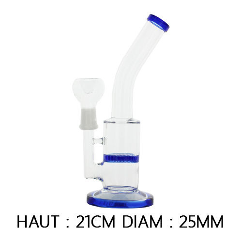Bang en verre avec percolateur - Hashtag CBD Products