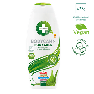 BODYCANN - Lait pour le corps 250 ml - Hashtag CBD Products