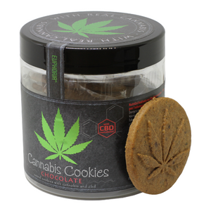 Cannabis Cookies Chocolat - Hashtag CBD Products