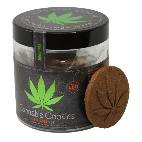 Cannabis Cookies Hashish - Hashtag CBD Products