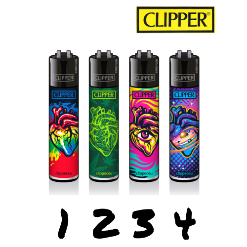 Clipper - Cœurs - Hashtag CBD Products