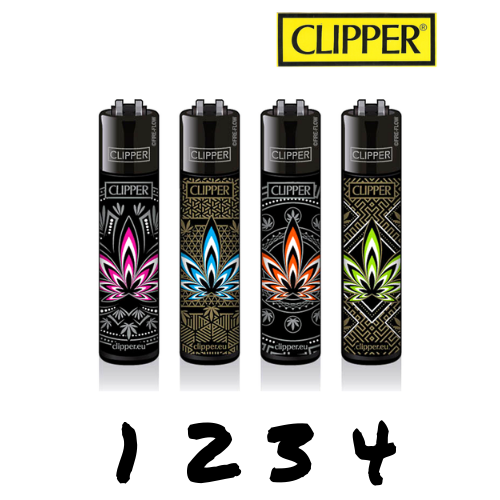 Clipper - Feuilles colorées - Hashtag CBD Products