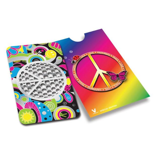 Grinder Card - Peace - Hashtag CBD Products