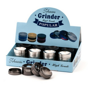 Grinder Metal - 40mm - 4 parties - Hashtag CBD Products