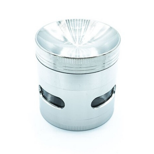 Grinder Metal - 55mm - 4 parties - Hashtag CBD Products