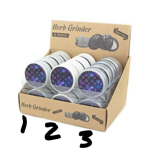 Grinder en plastique - Weed Galaxy - Hashtag CBD Products