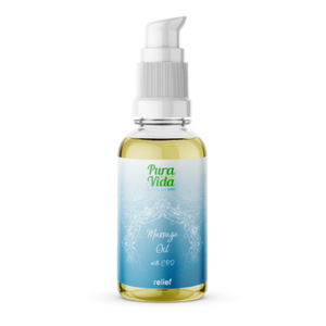 Huile de massage - Soulagement (100ml) - Hashtag CBD Products