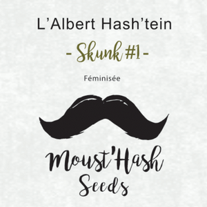 L'Albert Hash'tein - SKUNK #1 - Hashtag CBD Products