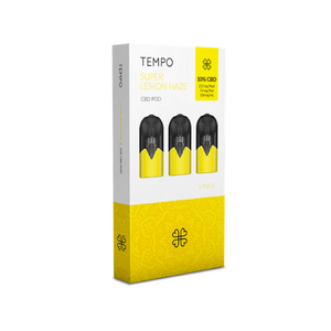 Tempo 3 pods pack - Super Lemon Haze - Hashtag CBD Products