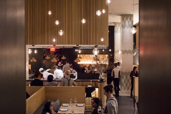 Dining room at Agern in New York City