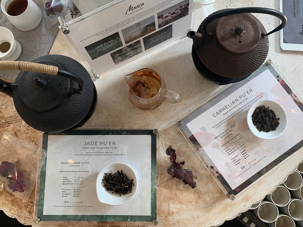Mansa Tea x Humming Puppy tea tasting event