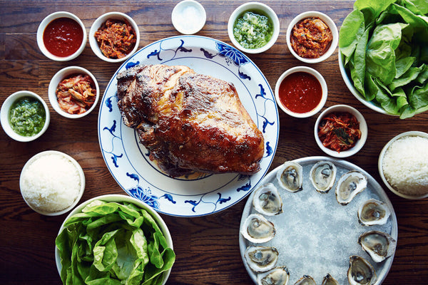 Bo Ssan dish at Ssam Bar