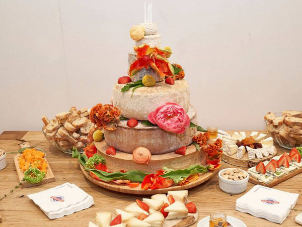 French Cheese Board Tower