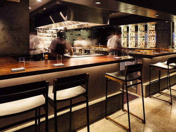 Dining room at Momofuku Ko in New York City