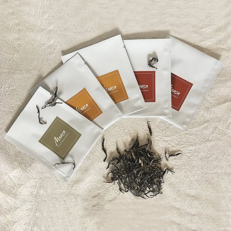 Mansa Tea | Vintage single-origin tea | gift set for experienced pu'er tea drinkers | Depths of aged pu'er | pu-erh